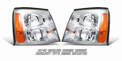 Headlights & Tail Lights - Headlights - OptionRacing - Cadillac Escalade Option Racing Headlight - 10-14108