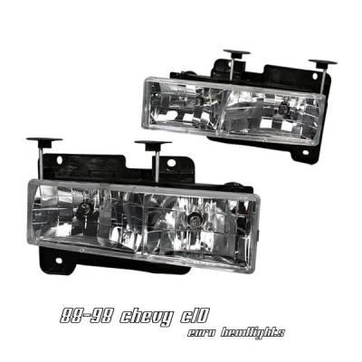 Headlights & Tail Lights - Headlights - OptionRacing - Chevrolet C10 Option Racing Headlight - 10-15115