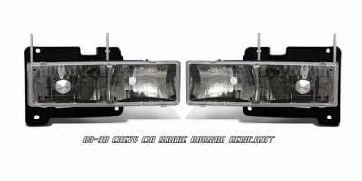 Headlights & Tail Lights - Headlights - OptionRacing - Chevrolet C10 Option Racing Headlight - 10-15117