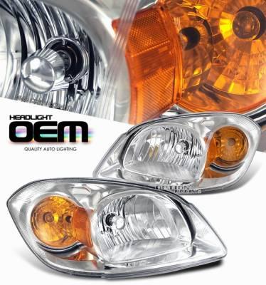 Headlights & Tail Lights - Headlights - OptionRacing - Chevrolet Cobalt Option Racing Headlight - 10-15118