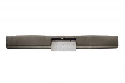 Suv Truck Accessories - Roll Pans - Hot Rod Deluxe - Dodge Dakota Hot Rod Deluxe Roll Pan with License Plate Box Center - RP200BC