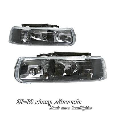 Headlights & Tail Lights - Headlights - OptionRacing - Chevrolet Silverado Option Racing Headlight - 10-15134