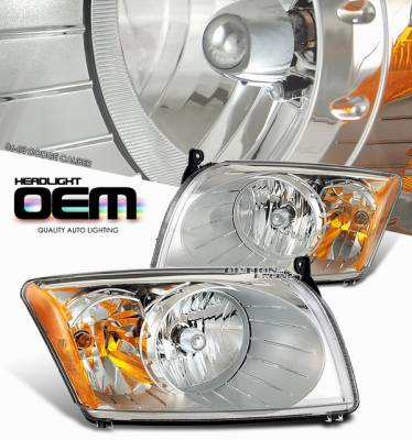Headlights & Tail Lights - Headlights - OptionRacing - Dodge Caliber Option Racing Headlight - 10-17140