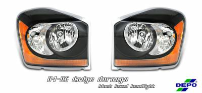 Headlights & Tail Lights - Headlights - OptionRacing - Dodge Durango Option Racing Headlight - 10-17145