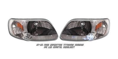 Headlights & Tail Lights - Headlights - OptionRacing - Ford Expedition Option Racing Headlight - 10-18161