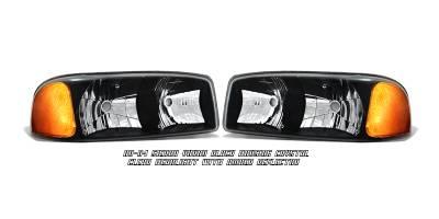 Headlights & Tail Lights - Headlights - OptionRacing - GMC Yukon Option Racing Headlight - 10-19188