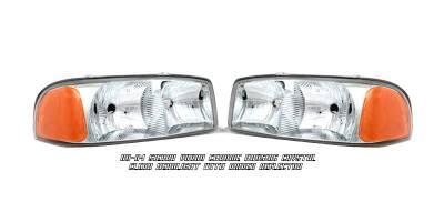 Headlights & Tail Lights - Headlights - OptionRacing - GMC Yukon Option Racing Headlight - 10-19189