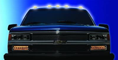Headlights & Tail Lights - Roof Lights - In Pro Carwear - Chevrolet CK Truck IPCW LED Cab Roof Lights - 5PC - LEDR-303C
