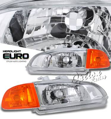 Headlights & Tail Lights - Headlights - OptionRacing - Honda Civic Option Racing Headlight - 10-20194