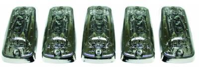 Headlights & Tail Lights - Roof Lights - In Pro Carwear - Chevrolet CK Truck IPCW LED Cab Roof Lights - 5PC - LEDR-303S