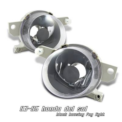 Headlights & Tail Lights - Headlights - OptionRacing - Honda Del Sol Option Racing Headlight - 10-20205