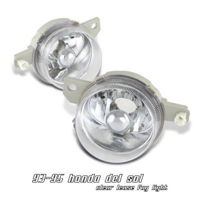 Headlights & Tail Lights - Headlights - OptionRacing - Honda Del Sol Option Racing Headlight - 10-20206
