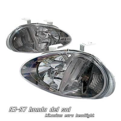 Headlights & Tail Lights - Headlights - OptionRacing - Honda Del Sol Option Racing Headlight - 10-20210