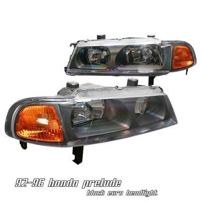 Headlights & Tail Lights - Headlights - OptionRacing - Honda Prelude Option Racing Headlight - 10-20211