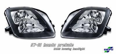 Headlights & Tail Lights - Headlights - OptionRacing - Honda Prelude Option Racing Headlight - 10-20215