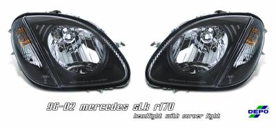 Headlights & Tail Lights - Headlights - OptionRacing - Mercedes-Benz SLK Option Racing Headlight - 10-32222