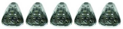 Headlights & Tail Lights - Roof Lights - In Pro Carwear - Ford F250 IPCW LED Cab Roof Lights - 5PC - LEDR-500S