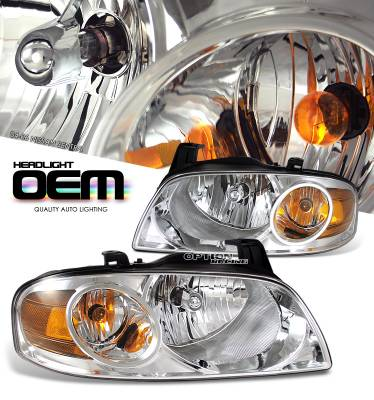 Headlights & Tail Lights - Headlights - OptionRacing - Nissan Sentra Option Racing Headlight - 10-36236