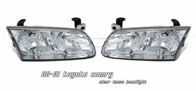 Headlights & Tail Lights - Headlights - OptionRacing - Toyota Camry Option Racing Headlight - 10-44242