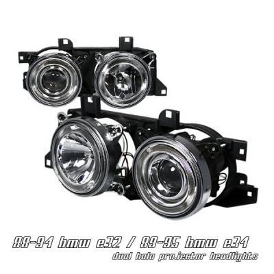 Headlights & Tail Lights - Headlights - OptionRacing - BMW 5 Series Option Racing Projector Headlight - 11-12111