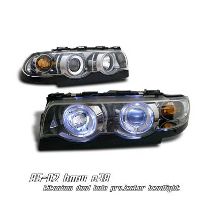 Headlights & Tail Lights - Headlights - OptionRacing - BMW 7 Series Option Racing Projector Headlight - 11-12116