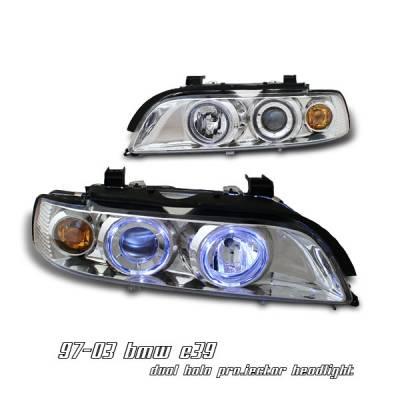 Headlights & Tail Lights - Headlights - OptionRacing - BMW 5 Series Option Racing Projector Headlight - 11-12118