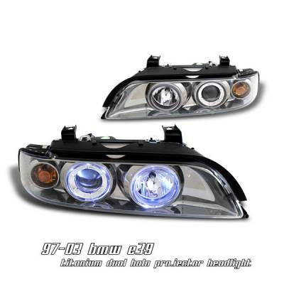 Headlights & Tail Lights - Headlights - OptionRacing - BMW 5 Series Option Racing Projector Headlight - 11-12119
