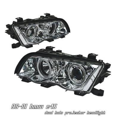 Headlights & Tail Lights - Headlights - OptionRacing - BMW 3 Series Option Racing Projector Headlight - 11-12125