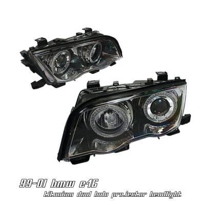 Headlights & Tail Lights - Headlights - OptionRacing - BMW 3 Series Option Racing Projector Headlight - 11-12126
