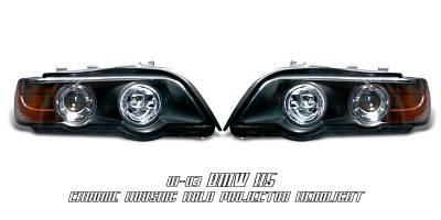Headlights & Tail Lights - Headlights - OptionRacing - BMW X5 Option Racing Projector Headlight - 11-12129