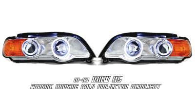 Headlights & Tail Lights - Headlights - OptionRacing - BMW X5 Option Racing Projector Headlight - 11-12130