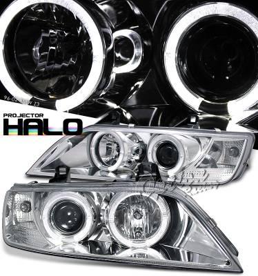 Headlights & Tail Lights - Headlights - OptionRacing - BMW Z3 Option Racing Projector Headlight - 11-12277