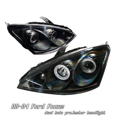 Headlights & Tail Lights - Headlights - OptionRacing - Ford Focus Option Racing Projector Headlight - 11-18155