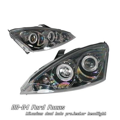 Headlights & Tail Lights - Headlights - OptionRacing - Ford Focus Option Racing Projector Headlight - 11-18157