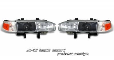 Headlights & Tail Lights - Headlights - OptionRacing - Honda Accord Option Racing Projector Headlight - 11-20179