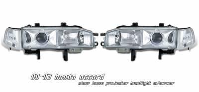 Headlights & Tail Lights - Headlights - OptionRacing - Honda Accord Option Racing Projector Headlight - 11-20180