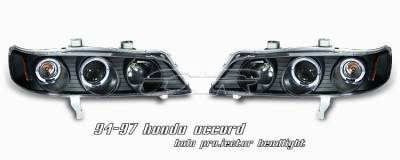 Headlights & Tail Lights - Headlights - OptionRacing - Honda Accord Option Racing Projector Headlight - 11-20183