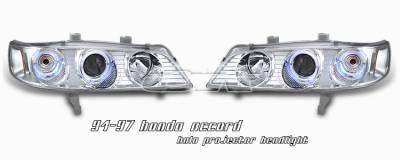 Headlights & Tail Lights - Headlights - OptionRacing - Honda Accord Option Racing Projector Headlight - 11-20184