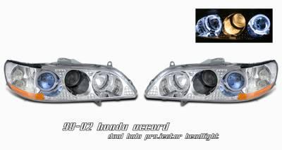 Headlights & Tail Lights - Headlights - OptionRacing - Honda Accord Option Racing Projector Headlight - 11-20186