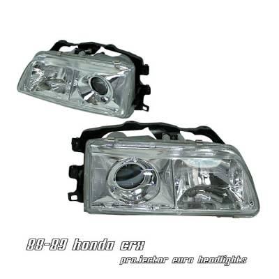 Headlights & Tail Lights - Headlights - OptionRacing - Honda CRV Option Racing Projector Headlight - 11-20200
