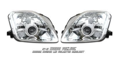 Headlights & Tail Lights - Headlights - OptionRacing - Honda Prelude Option Racing Projector Headlight - 11-20204