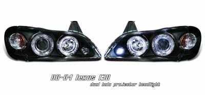 Headlights & Tail Lights - Headlights - OptionRacing - Infiniti I-30 Option Racing Projector Headlight - 11-23205