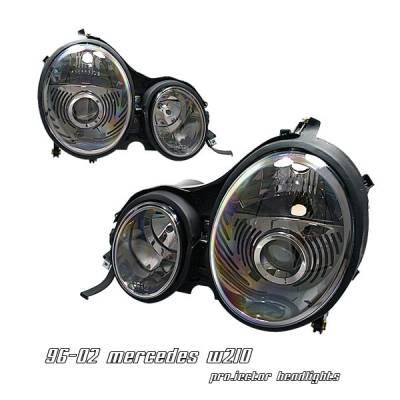 Headlights & Tail Lights - Headlights - OptionRacing - Mercedes-Benz E Class Option Racing Projector Headlight - 11-32231