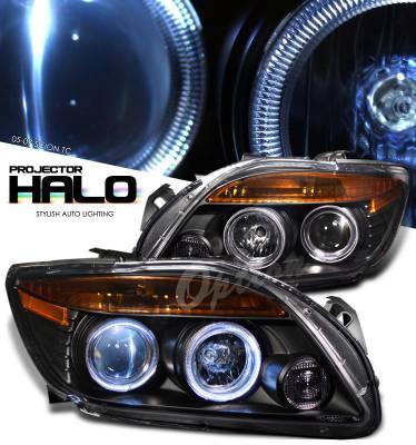 Headlights & Tail Lights - Headlights - OptionRacing - Scion tC Option Racing Projector Headlight - 11-41252