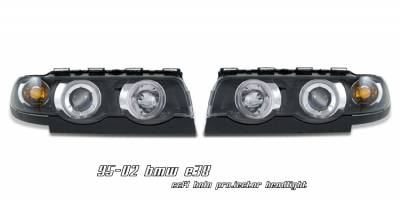 Headlights & Tail Lights - Headlights - OptionRacing - BMW 7 Series Option Racing CCFL Projector Headlight - 12-12107