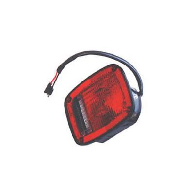 Headlights & Tail Lights - Tail Lights - Omix - Omix Tail Light - Black - Right - 12403-04