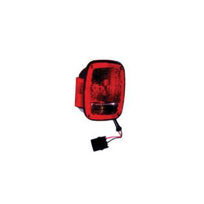 Headlights & Tail Lights - Tail Lights - Omix - Omix Tail Light - Black - Right - 12403-14