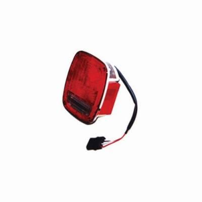Headlights & Tail Lights - Tail Lights - Omix - Omix Tail Light - Chrome - 12403-15