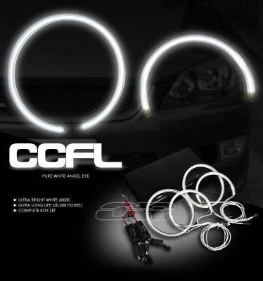 Headlights & Tail Lights - Headlights - OptionRacing - Lexus IS Option Racing CCFL Halo Ring for Headlights - 13-29110