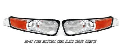Headlights & Tail Lights - Corner Lights - OptionRacing - Ford Mustang Option Racing Bumper Light - 16-18104